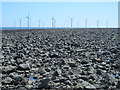 NZ5627 : Exposed rocks east of the South Gare Breakwater at low tide (2a) by Mike Quinn