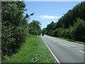 TL3445 : Ermine Street Roman Road (A1198) by JThomas