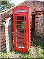 SU8296 : K6 Telephone Box in Bradenham by David Hillas