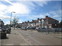 TQ2087 : Dunster Drive, Kingsbury by John Slater