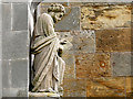 NT2763 : Rosslyn Chapel Statues and Carvings (3) by David Dixon