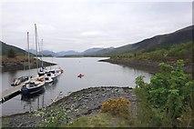 NN0958 : Loch Leven at Glencoe by Peter Jeffery