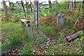 NT3058 : Stile and marker post, Edgelaw Reservoir by Jim Barton