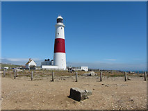 SY6768 : Portland Bill lighthouse by Gareth James