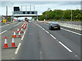 NT1282 : Roadworks on the A90 by David Dixon