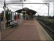 SJ8297 : Cornbrook tram stop, Greater Manchester by Nigel Thompson