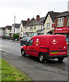 ST2177 : Royal Mail van, Storrar Road, Tremorfa, Cardiff by Jaggery