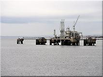 NT1580 : Hound Point Tanker Berth by David Dixon
