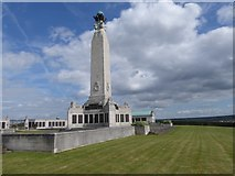 TQ7668 : The Chatham Naval Memorial on Great Lines Heritage Park by Marathon
