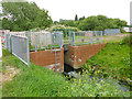 TQ0377 : Bridge on mill stream for Colnbrook Mill by Robin Webster