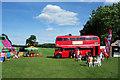 TL2408 : Bar in a Bus, Hatfield Park by Des Blenkinsopp