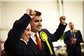 NS4864 : Mhairi Black and Gavin Newlands SNP win by david cameron photographer