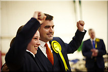 NS4864 : Mhairi Black and Gavin Newlands SNP win by david cameron photographer