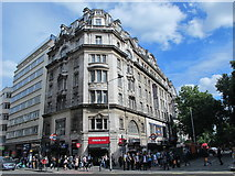 TQ3081 : Holborn tube station entrance building, High Holborn / Kingsway, WC1 by Mike Quinn