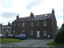 NT5247 : Houses on Stow Road, Lauder by JThomas