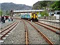SH7045 : Blaenau Ffestiniog Railway Station by Peter Holmes