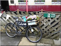 SD8789 : The bicycle as planter by Oliver Dixon