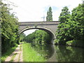 TQ0587 : Railway viaduct over the Grand Union Canal east of Denham Green by John Slater