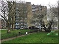 TQ3276 : Lansdown House, Crawford Estate, Camberwell, south London by Robin Stott