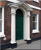 SO5139 : Detail of 10-12 St Owen's Street, Hereford by Stephen Richards