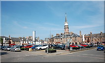 NO8785 : Market Square, Stonehaven by Bill Harrison