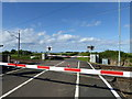 NU0938 : Fenham Low Moor Level Crossing by PAUL FARMER