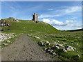 NU2521 : Dunstanburgh Castle by PAUL FARMER