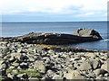 NU2522 : Greymare Rock, Embleton Bay by PAUL FARMER