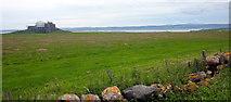 NU1341 : Lindisfarne Castle by PAUL FARMER