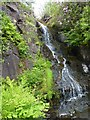 NG2448 : Waterfall in Dunvegan castle gardens by James Allan