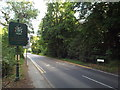 TQ3995 : London/Essex border in Epping Forest by Malc McDonald