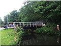 SE1839 : Esholt sewage works: access bridge by Stephen Craven