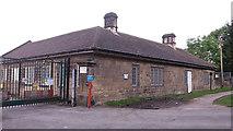 SE1839 : Esholt sewage works: lodge by Stephen Craven