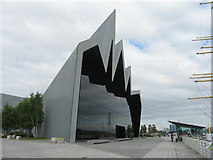 NS5565 : The Riverside Museum, Glasgow by M J Richardson