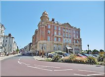 SZ6398 : Southsea, Queens Hotel by Mike Faherty