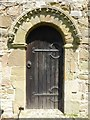 SO6777 : Door and Norman arch by Philip Halling