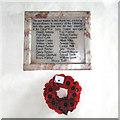 TM3158 : Hacheston War Memorial by Adrian S Pye