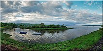 NH5658 : Dingwall Harbour by valenta