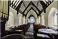 TF3671 : Interior, St Mary's church, Harrington by Julian P Guffogg