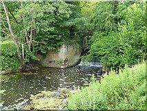 TM0855 : Lower end of former Needham Lock by Robin Webster