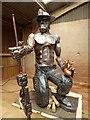 SW3734 : The Tin Man, Geevor tin mine by pam fray