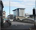 NJ9405 : Guild Street railway bridge by Bill Harrison