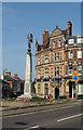 TQ2696 : War memorial, New Barnet by Julian Osley