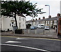 ST2077 : Beresford Road speed bump, Cardiff by Jaggery