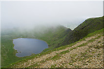 NY3415 : Red Tarn and Striding Edge by Bill Boaden