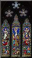 TF3469 : East window, Holy Trinity Church, Hagworthingham by Julian P Guffogg