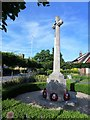 SP9433 : War memorial in Woburn, Bedfordshire by Richard Humphrey