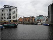 SE3032 : Leeds Dock (1) by Richard Vince
