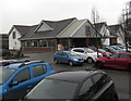 SO5040 : Aldi supermarket and car park, Hereford by Jaggery