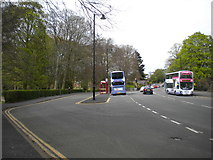SE3238 : Bus terminus of sorts, Roundhay Park by Richard Vince